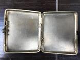 Портсигар серебро, фото №8