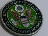Зеленый берет US.Army - сувенирный жетон, фото №5