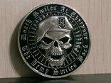 Зеленый берет US.Army - сувенирный жетон, фото №7