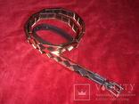 Ремень женский в металлической оправе., фото №2
