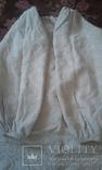 Старинная украинская вышиванка- оберег(Сумщина)   белым по  белому с вырезанием., фото №4