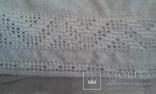 Старинная украинская вышиванка- оберег(Сумщина)   белым по  белому с вырезанием., фото №7