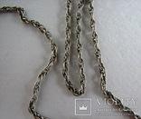 Серебряная цепочка, фото №8