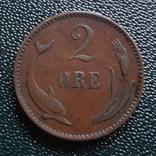 2 эре 1899 Дания (,10.1.31)~, фото №2