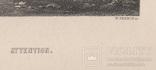 Старинная гравюра. Девид Тернер. Внимание. ХIХ- век. (31 х 23 см.) фото 8