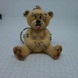 Брелок Мишка Тедди с пирсингом по всему телу, фото №2