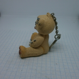 Брелок Мишка Тедди с пирсингом по всему телу, фото №4