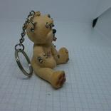 Брелок Мишка Тедди с пирсингом по всему телу, фото №6