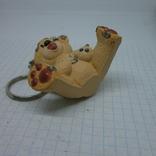 Брелок Мишка Тедди с пирсингом по всему телу, фото №7