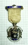 Масонский знак STEWARD. Серебро. RMIG 1921 г., фото №3