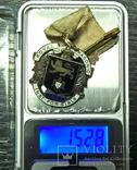 Масонский знак STEWARD. Серебро. RMIG 1921 г., фото №8