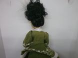 Полностью фарфоровая кукла. 190мм, фото №6
