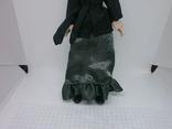 Полностью фарфоровая кукла. 190мм, фото №5