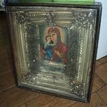 Большая икона под стеклом ( 53 на 47 см), фото №2