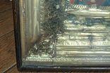 Большая икона под стеклом ( 53 на 47 см), фото №6