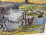 Ткаченко Е.С., «Весна, разлив», 43,5*66, фото №5