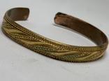 Винтажный позолоченый браслет из Англии, фото №2