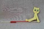Игрушка перекидной котик СССР, фото №2