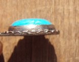 Кулон с голубым камнем., фото №5