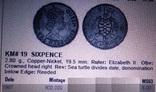 6 пенсів 1967 року Фіджи /колонія/, фото №4