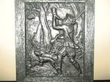 Картина барельеф панно Охота Германия, фото №4