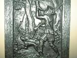 Картина барельеф панно Охота Германия, фото №5
