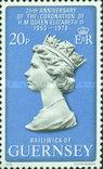 Гернси 1978 Юбилей королевы, фото №2
