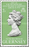 Гернси 1978 Юбилей королевы, фото №3