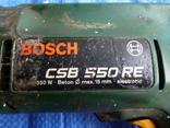 Дриль BOSCH CSB 550 RE з Німеччини, фото №5