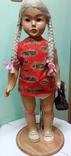 Кукла Опилочная 65см азиатка, фото №2