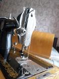 Швейная машинка ПОДОЛЬСК с ручным приводом.Рабочая., фото №5