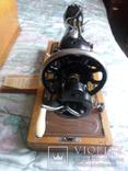 Швейная машинка ПОДОЛЬСК с ручным приводом.Рабочая., фото №9