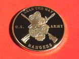 Airborne US.Army ranger - жетон медаль, фото №4