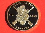Airborne US.Army ranger - жетон медаль, фото №5