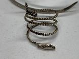 Браслет+кольцо в виде змеи, фото №3