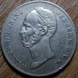 Нидерланды 2 1/2 гульдена 1848 г., фото №3