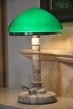 Антикварная настольная лампа, фото №2
