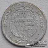 1/4 талера 1767 Гессен-Кассель Германия, фото №2