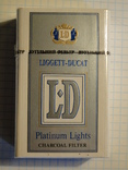Сигареты LD Platinum Lights
