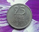 Швеция 25 эре 1965, фото №2