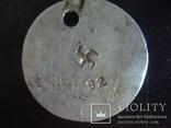 Номерки,жетоны,Немецкий гардероб СС 1941-45гг., фото №4