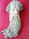 Полихромная скульптура. Голова ( частина Амвона ), фото №3