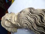 Полихромная скульптура. Голова ( частина Амвона ), фото №7