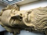 Полихромная скульптура. Голова ( частина Амвона ), фото №8