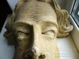 Полихромная скульптура. Голова ( частина Амвона ), фото №9
