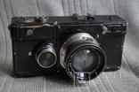 Фотоаппарат Contax № X 62436, Sonnar 2/5 cm № 1518461 №3, фото №2