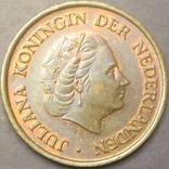 5 центів Нідерланди 1977, фото №3
