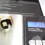 Золотое мужское масонское кольцо, фото №7