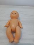 Кукла пупс на резинках СССР Целлулоид, фото №2