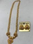 Новые серьги+ожерелье в наборе компании из Германии Jewelry earring, фото №2